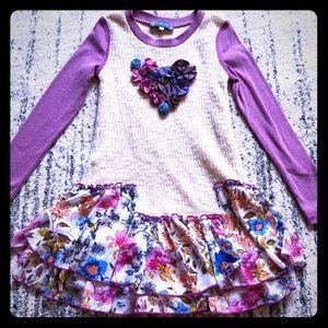 Long sleeve girls dress